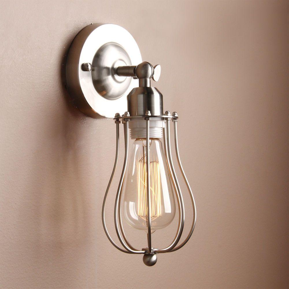 Modern Rustic Sconce Metal Vintage Industrial Loft Wall Light Wall Lamp Wandleuchte Lampen Und Wandlampe Vintage