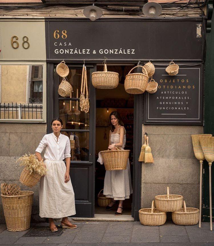 Casa González González Madrid Coffee Shop Design Shop Design Store Design