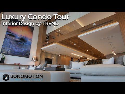 Cinematic Luxury Tour Marquis Miami Condo Interior Design