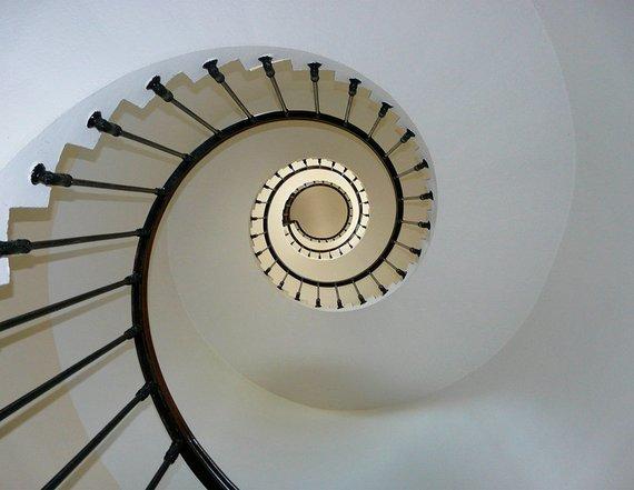 Best White Staircase Print Architecture Art Print Stairway Fine 640 x 480