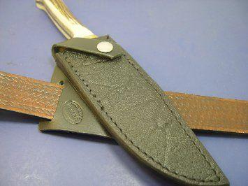 Custom Right Hand Cross Draw Leather Sheath For Puma Original Bowie