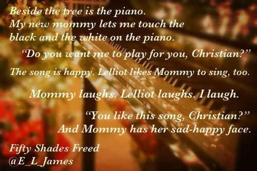 Merry Christmas! Another glimpse of Fifty's First Christmas with the Grey.;) #fiftyshadesfreed by @E_L_James @BookishTemptations