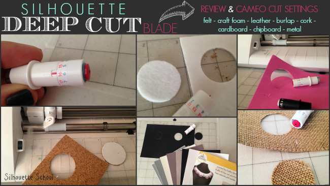 Silhouette Deep Cut Blade for Silhouette Curio NEW!!