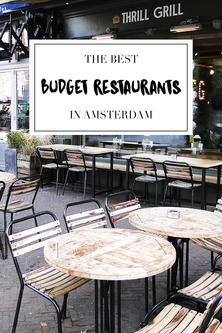 Budget Restaurants In Amsterdam Amsterdam City Guide