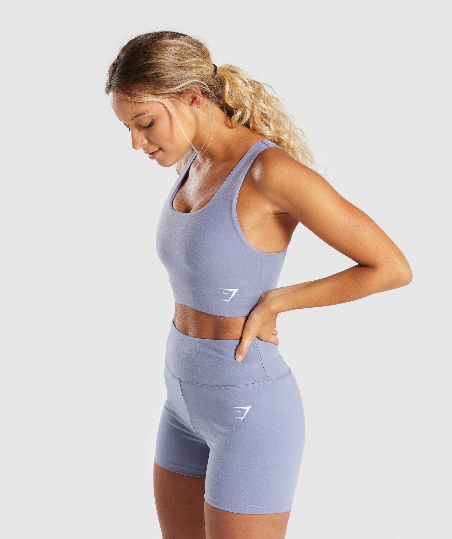 Gymshark Dreamy Sports Bra Steel Blue Sports bra