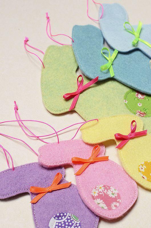 Osterhasen Anhänger / Easter Bunny Ornament Tutorial