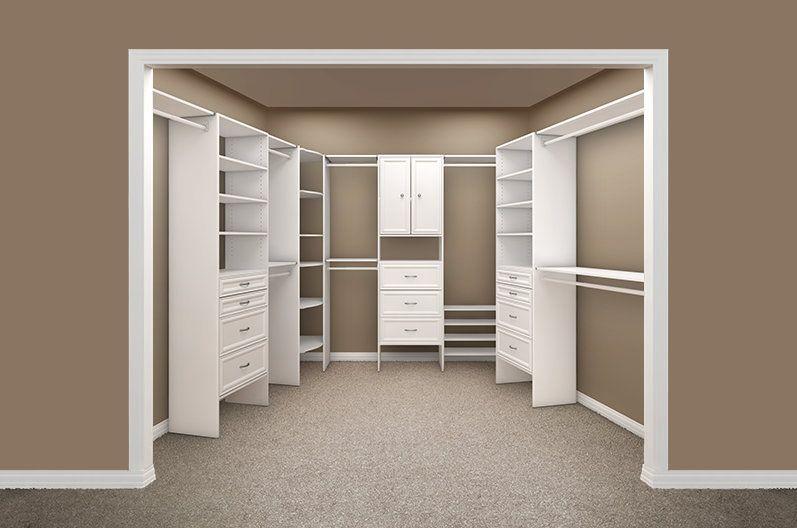 Easy To Use Design Tool Closetmaid Closetmaid Closet Organizer