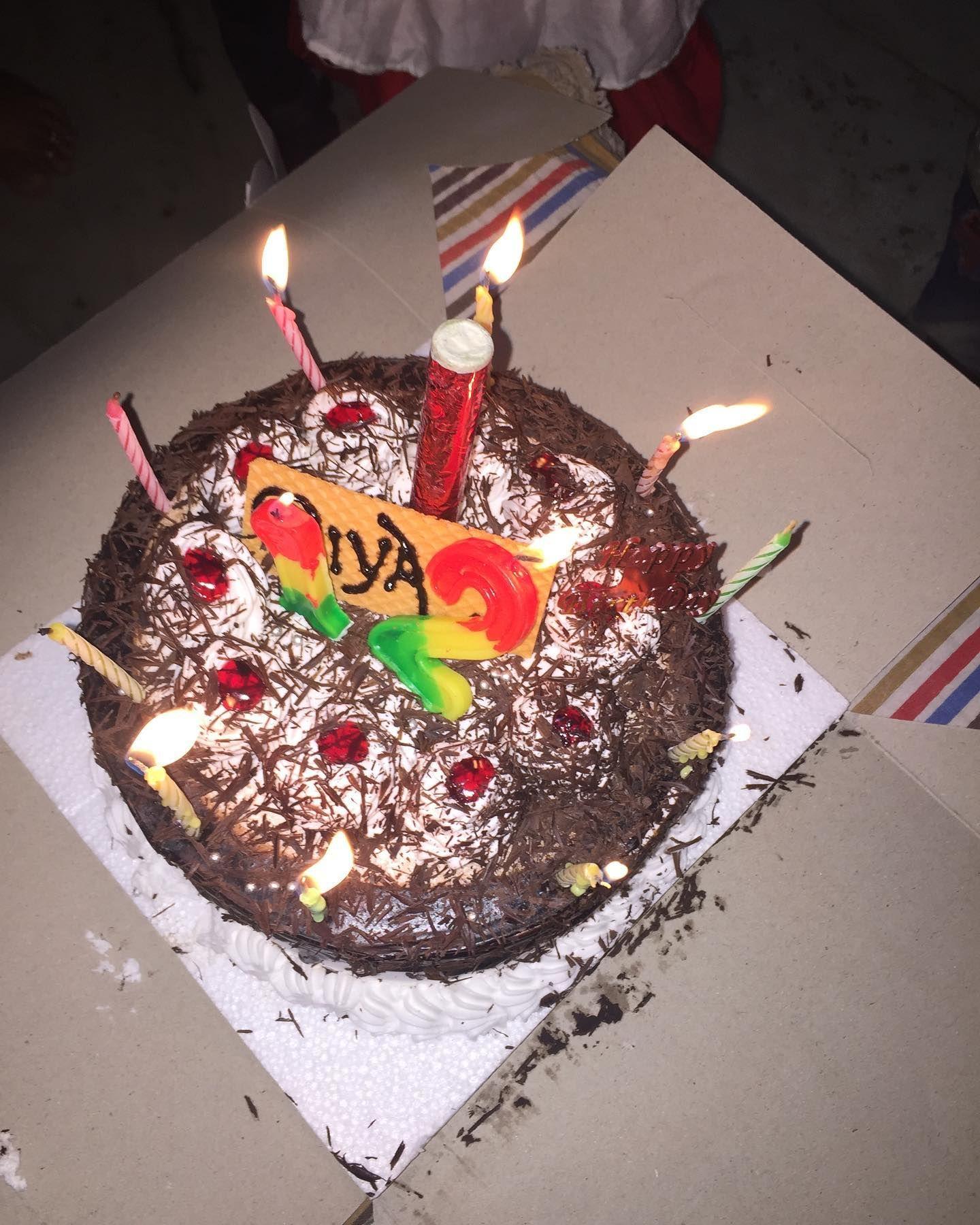 Happy Birthday Riya May God Bless You Beta Khush Reh Hmesha Birthday Candles Happy Birthday Instagram Photo