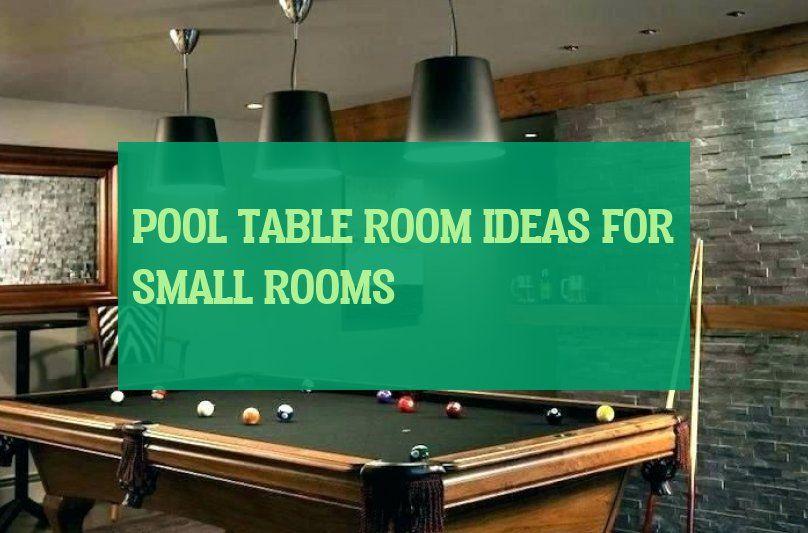 Pool Table Room Ideas For Small Rooms Idées De Salle De Billard Pour Les Petites Salles Pool Table Room Ideas S Pool Table Room Small Rooms Pool Table