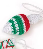 Bonbons Crocheted Finial Ornament