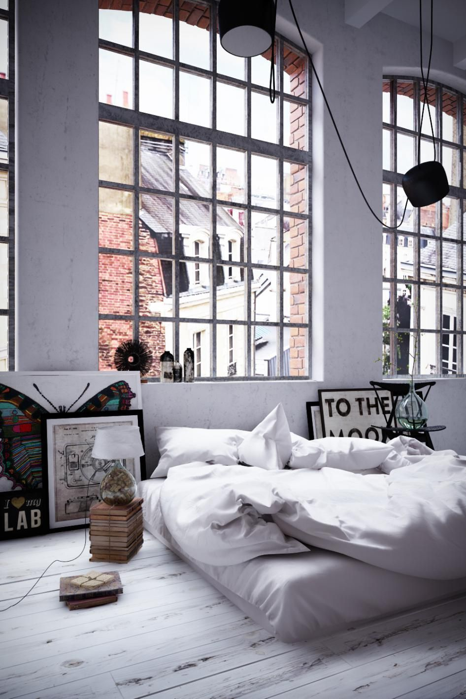 Modern Industrial Bedroom Sublime Cool Ideas Industrial Bedroom Concrete Modern Industrial