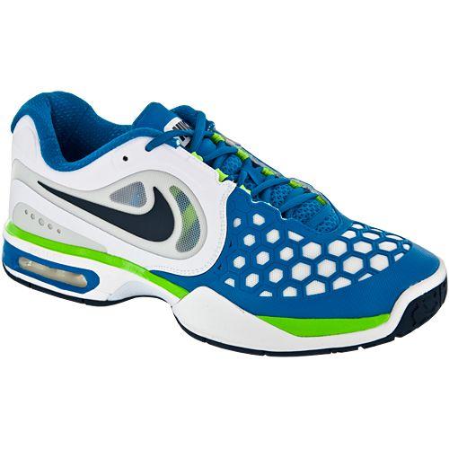 info for 88b5c fa87c Nike Air Max Courtballistec 4.3  Nike Men s Tennis Shoes White blue green
