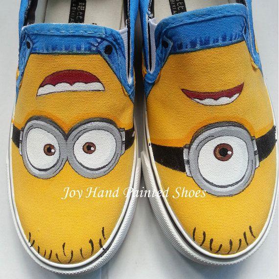 zapatillas minions vans