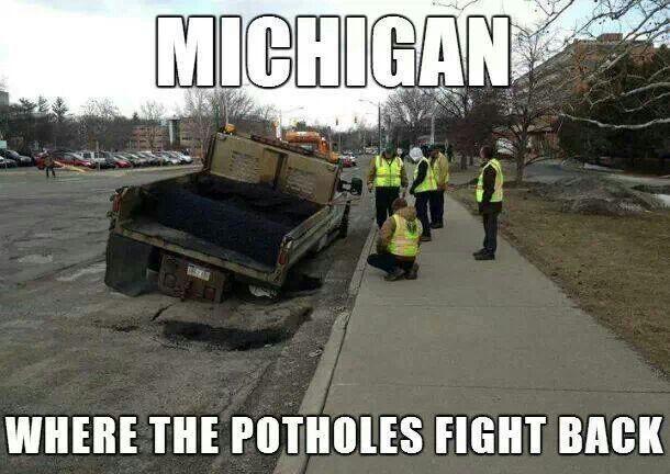 Springtime in Michigan