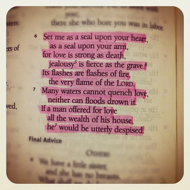 """Maiden: """"If A Man Offered For Love All The Wealth Of His"""