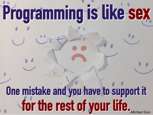One mistake Coding quotes, Image quotes, Inspirational