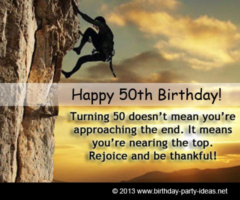 50th birthday quotes Turning 50 doesnt mean youre approaching
