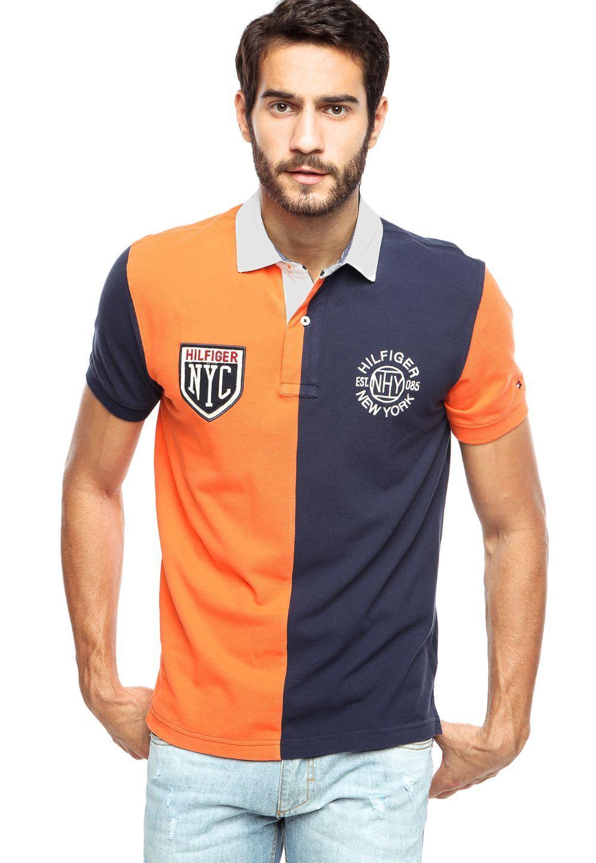 c23acf51732 Camisa Polo Tommy Hilfiger New York Multicolorida - Multicolorido ...