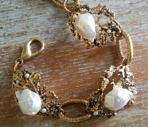 Bracciale fusioni perle scaramazze