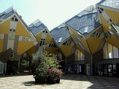 famous architecture houses. Fine Architecture Designed By Piet Blom In The Cubic Houses Are One Of Most Famous  Buildings World The 32 Tilted 45 Degrees Contain 3 Floors And Have  Intended Famous Architecture Houses