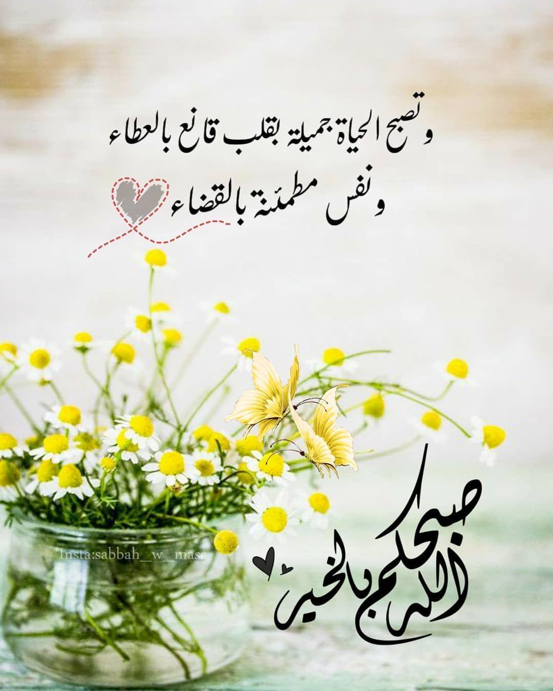 صبح و مساء On Instagram ص با ح الخي رآت و الم س ر ات صباح ال Beautiful Morning Messages Good Morning Greetings Good Morning Arabic