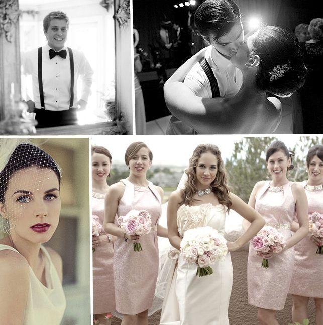 Vintage Glamour, Old Hollywood Wedding Invitation Inspiration ...