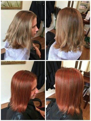 Lowlights Of Vibrant Red Blonde Added To Clients Natural Dark Blonde Hair Natural Dark Blonde Hair Dark Blonde Hair Red To Blonde