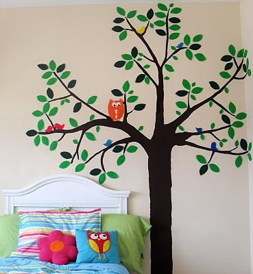 fabric starched wall decal