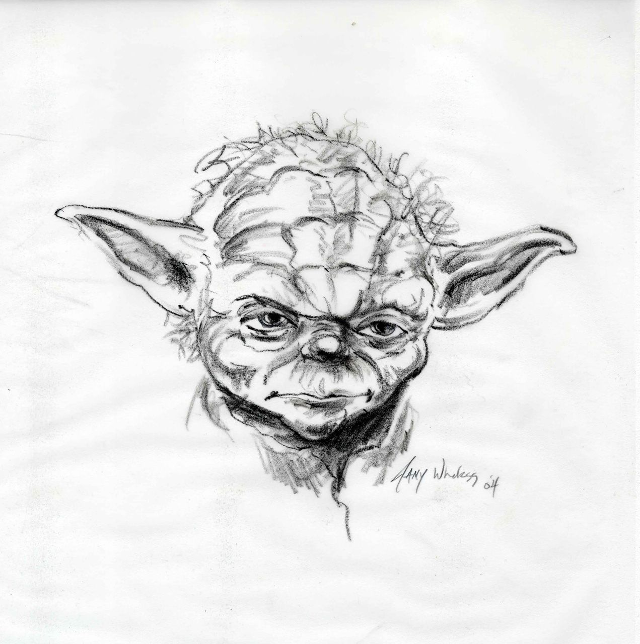 Yoda - Jamy Wheless   Jedi   Pinterest   Malen