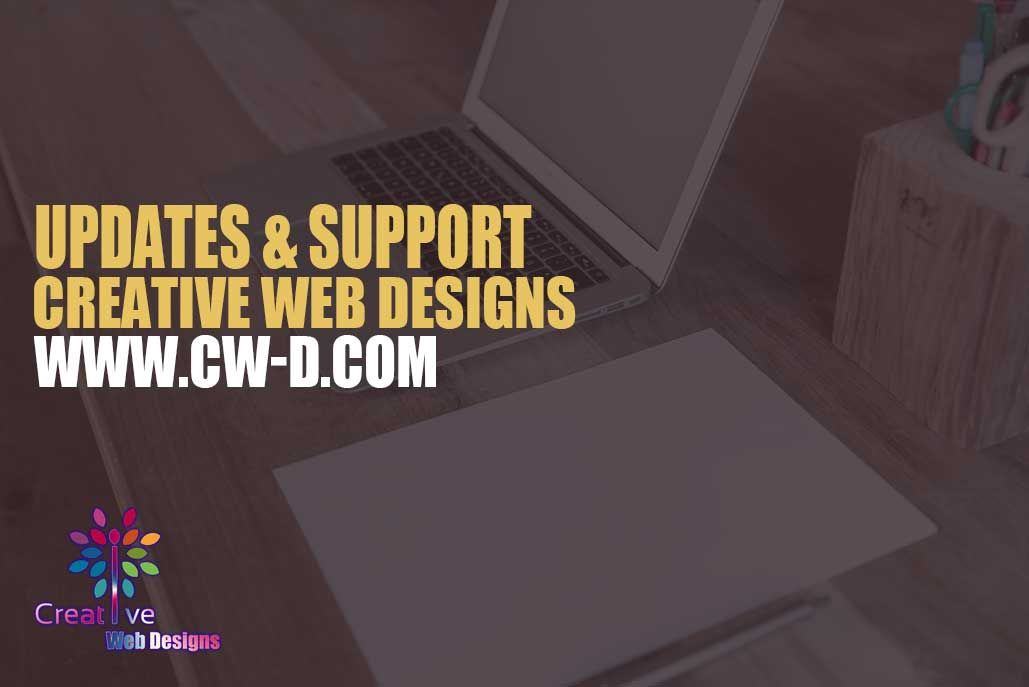 Updates Support Depending On Your Website We Have Several Different Ways To Update Your Website Some Web Development Design Web Design Creative Web Design