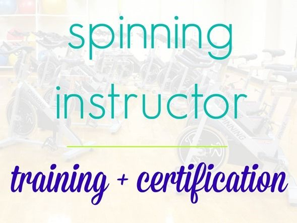 Spinning Instructor Certification Overview | Pinterest | Peanut ...