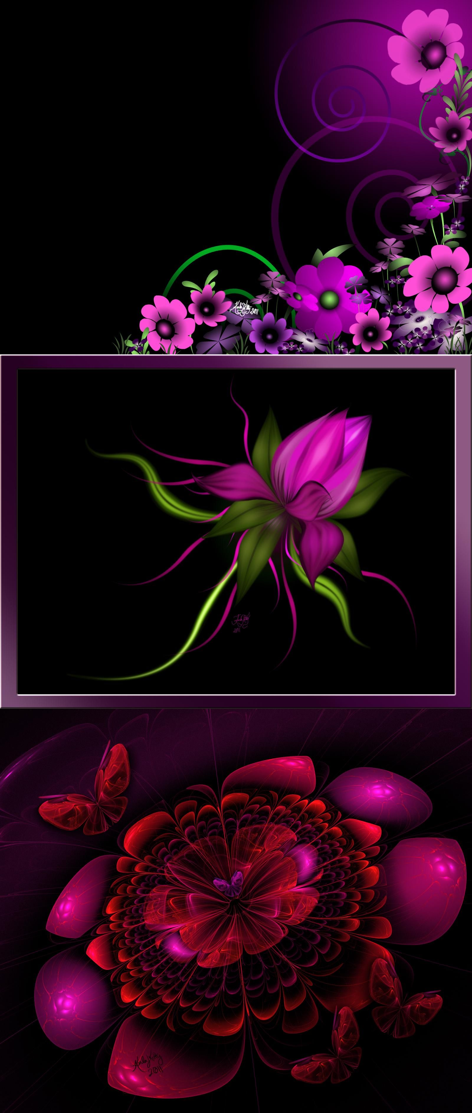 PINK FLOWER BURST Iphone wallpaper, Pink lipstick