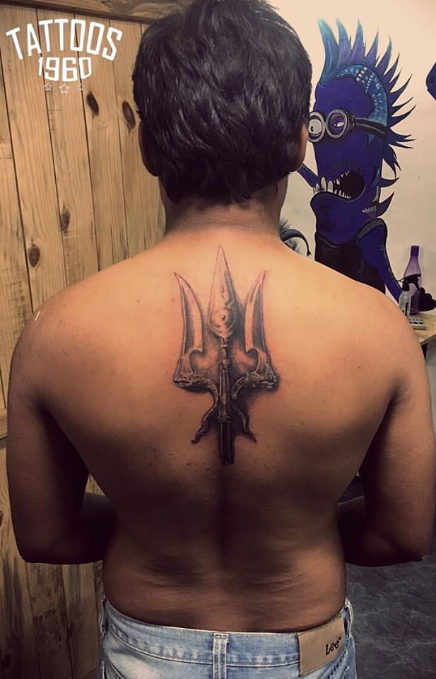 Immortals Of Melua Tattoo Trishul Tattoo Shiva Tattoos Dreizack