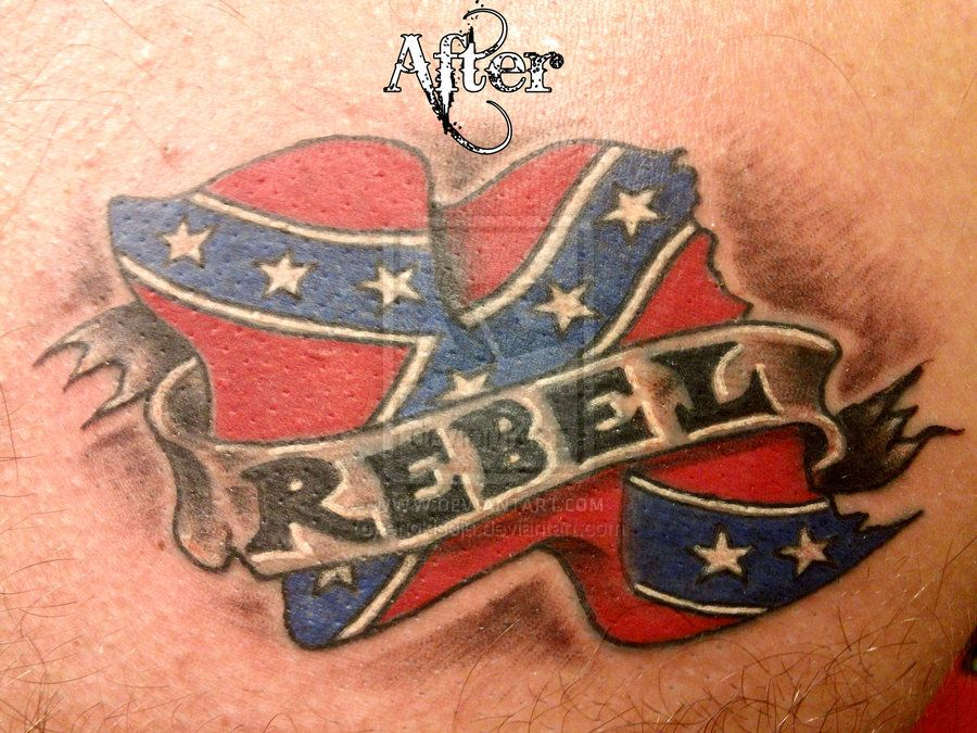 confederate flag tattoos - Google Search   confederate ...