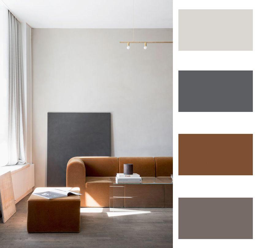Color Palette Interior Design: Interior Colour Palette By Paleutr