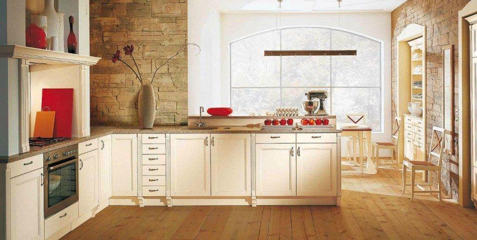 Cocina rústica de tonos blancos | cocinas rusticas | Pinterest ...