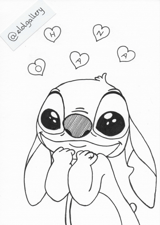 Lilo And Stitch Ohana Means Family Inktober Elolgallery Coloriage Coloring Disney Cactus Cactus Sketch Stitch Coloring Pages Stitch Drawing Stitch Disney