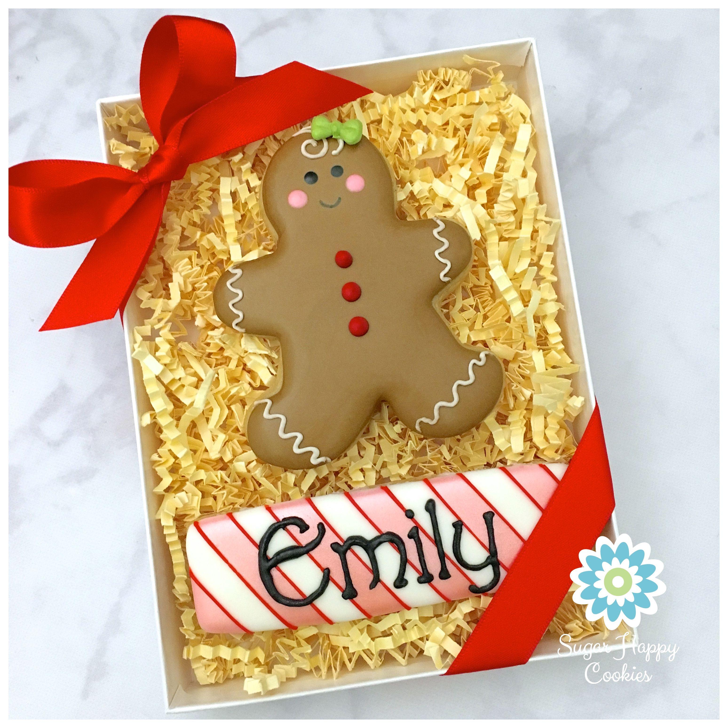 Personalized cookie idea, Christmas cookies, sugar cookies, royal ...