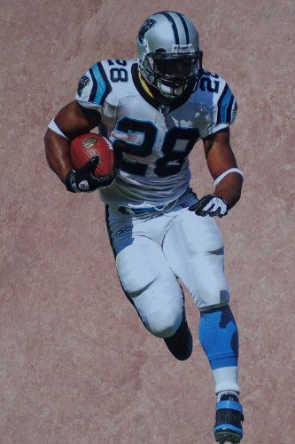 Jonathan Stewart Rookie Mini FATHEAD Carolina Panthers Official NFL Vinyl Wall Graphic 7 INCH >>> Check out the image by visiting the link.