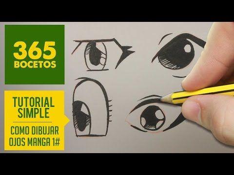 como dibujar ojos manga facil paso a paso kawaii aprender a dibujar para nios y