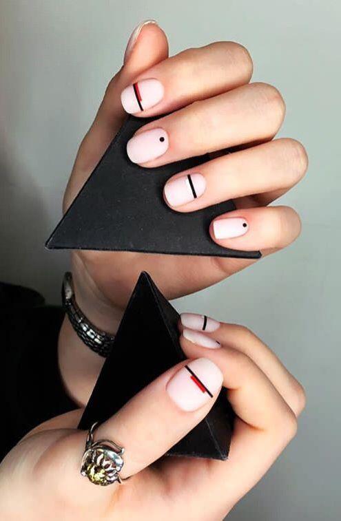 25 Stunning Minimalist Nail Art Designs Minimalist Nail Art Gel Nail Designs Minimalist Nails
