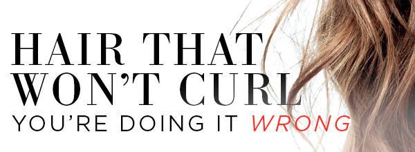 How to Get Stubborn Hair to Hold a Curl?and Make it Last