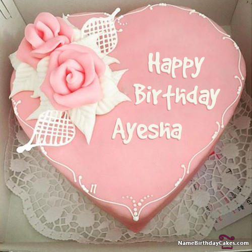 Happy Birthday Ayesha Video And Images Name Happy Birthday