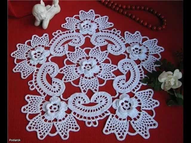 How To Irish Crochet Doily Free Pattern Crochet Doilies Free