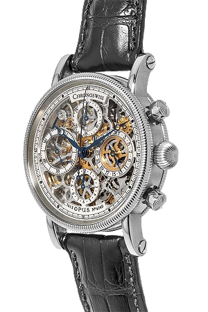 Certified Pre-Owned Chronoswiss Opus Skeleton Automatic.