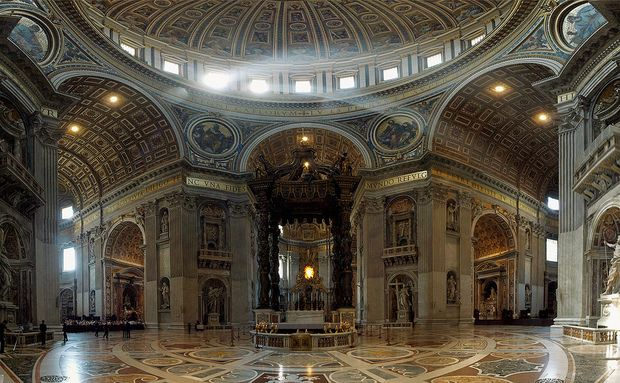 Baldaquino, Catedral De São Pedro, Vaticano