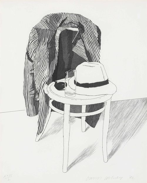 Panama Hat Etching With Aquatint 1972 David Hockney B 1937 David Hockney Museum Of Contemporary Art Scottish Art