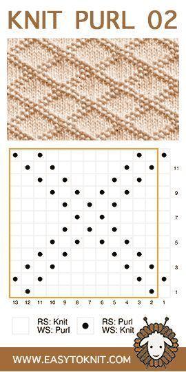 Photo of Knit und Purl, eine tolle Kombination aus zwei einfachen Maschen #Knitpurl … – Knitting 2019 trend | ml