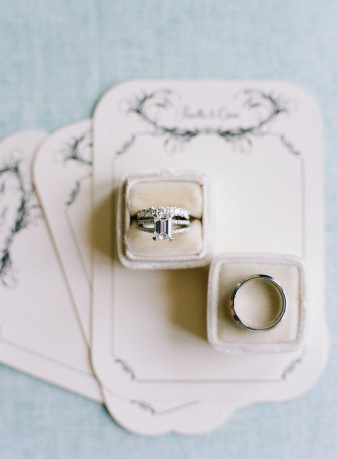 Stunning set rings: http://www.stylemepretty.com/vault/gallery/38208 | Photography: Audra Wrisley - http://audrawrisley.com/