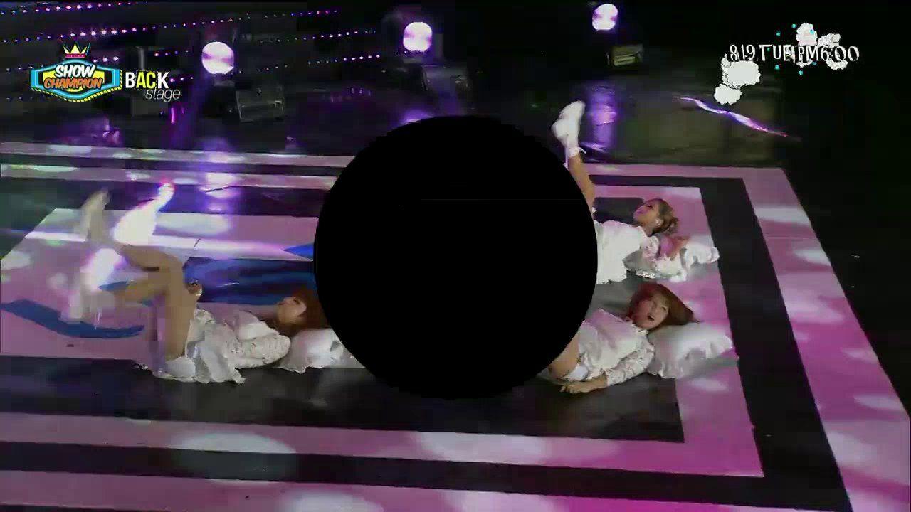 140809 쇼챔 백스테이지 - AOA CUT